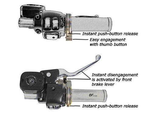 Motorcycle Cruise Control - keAway Products on
